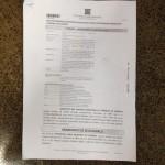 Página inicial do mandado de segurança nº  201401850922