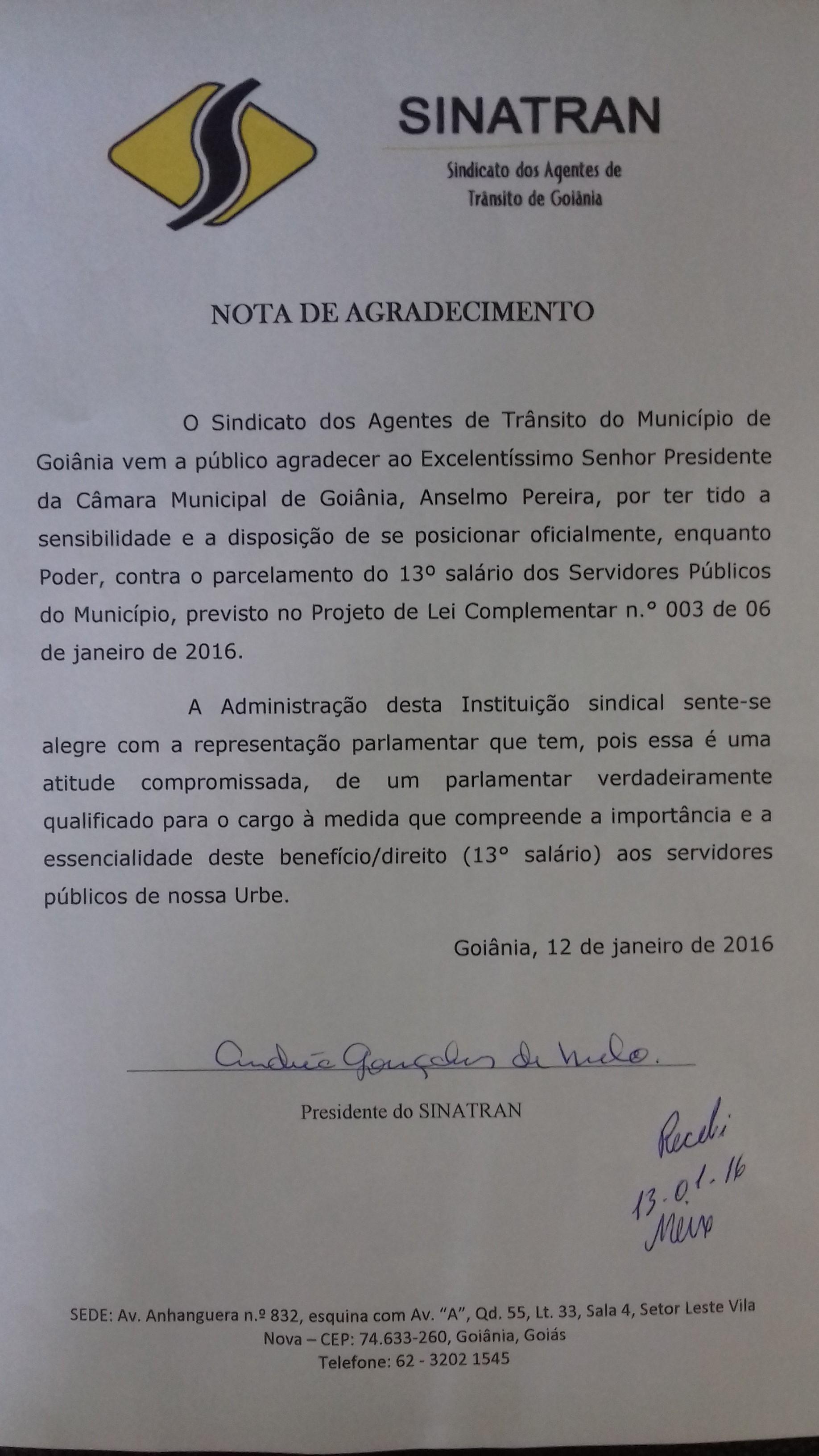 NOTA DE AGRAD.       ANSELMO           13-01-16