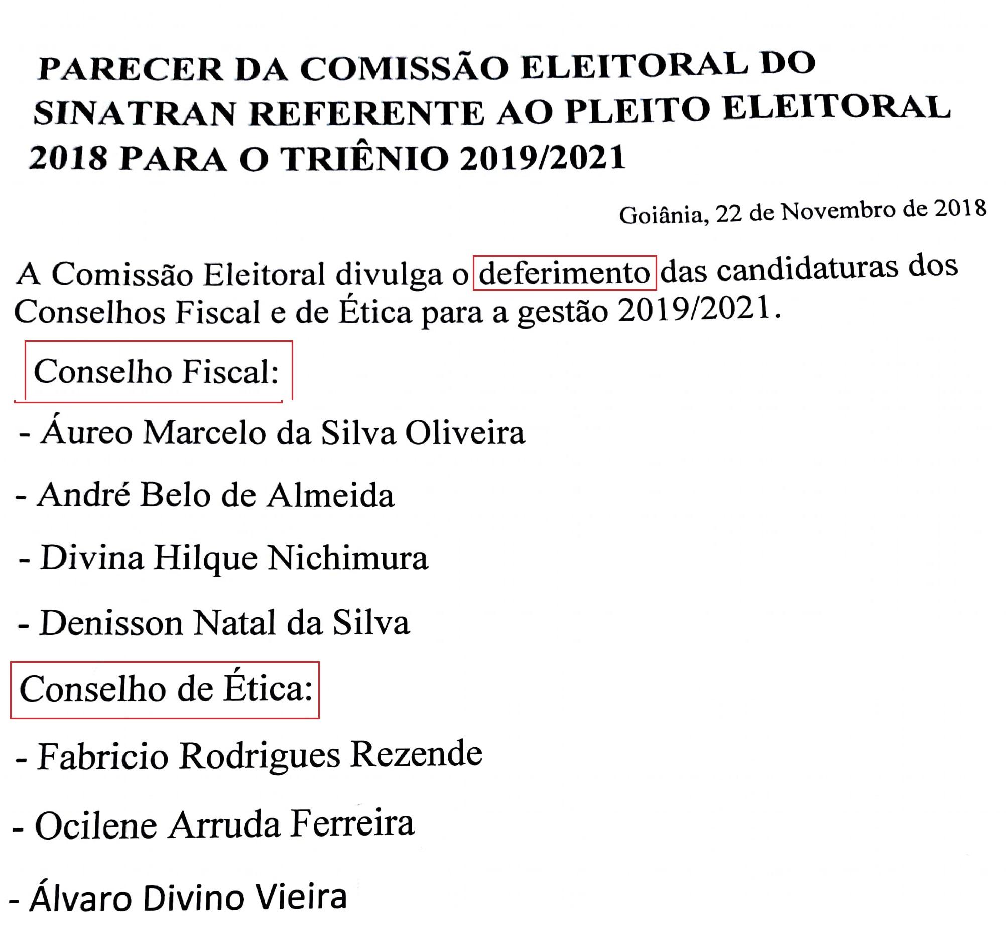 COMISSÃO POSTAR