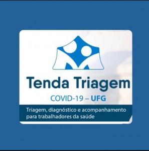 Tenda triagem covid-19 ufg